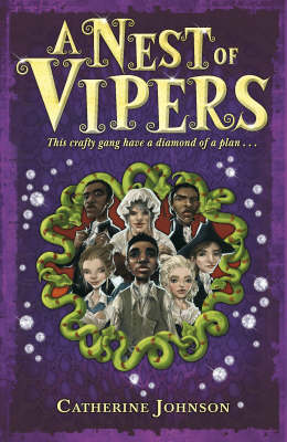 Cover for A Nest of Vipers by Catherine Johnson