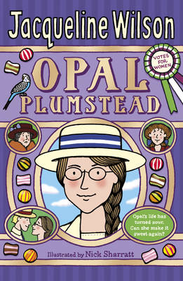 Book Cover for Opal Plumstead by Jacqueline Wilson