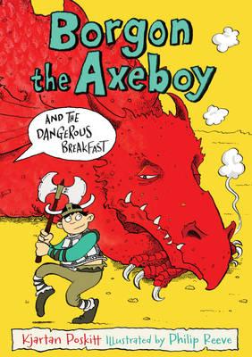 Cover for Borgon the Axeboy and the Dangerous Breakfast by Kjartan Poskitt