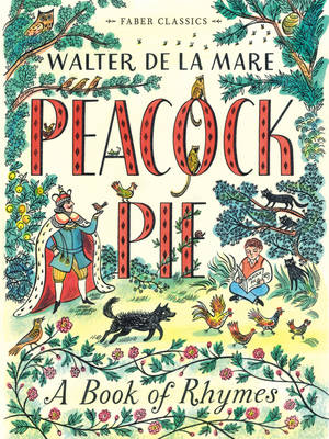 Cover for Peacock Pie A Book of Rhymes by Walter de la Mare