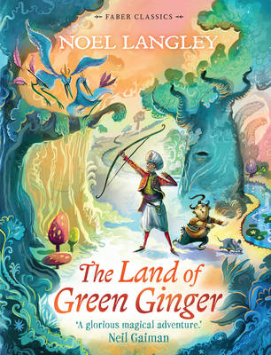 Cover for The Land of Green Ginger by Noel Langley