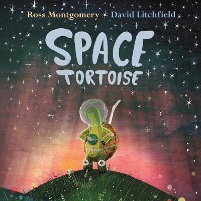 Cover for Space Tortoise by Ross Montgomery