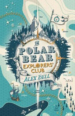 Cover for The Polar Bear Explorers' Club by Alex Bell