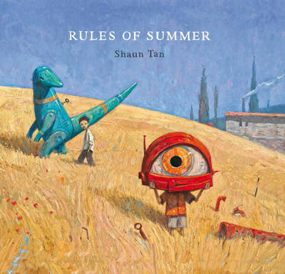 Cover for Rules of Summer by Shaun Tan