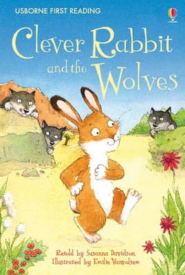 Cover for Clever Rabbit And The Wolves by Susanna Davidson