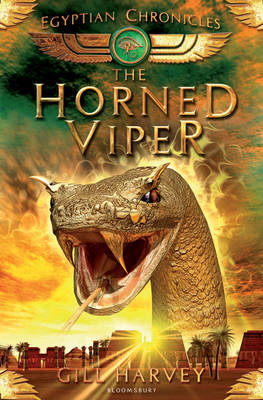 Cover for The Horned Viper: Egyptian Chronicles book 2 by Gill Harvey