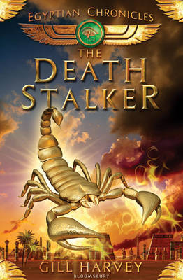 Cover for The Deathstalker The Egyptian Chronicles book 4 by Gill Harvey