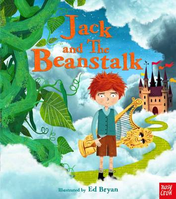 Cover for Jack and the Beanstalk by Ed Bryan