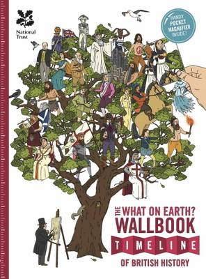 Cover for The British History Timeline Wallbook by Christopher Lloyd