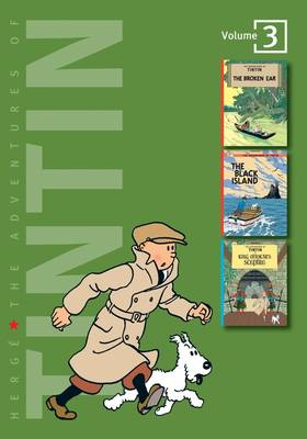 Cover for The Adventures of Tintin: Vol 3  by Herge