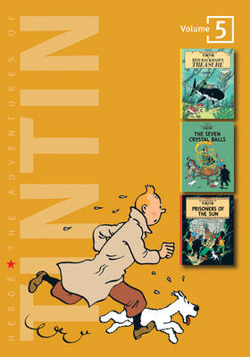 Cover for The Adventures of Tintin: Vol 5  by Herge