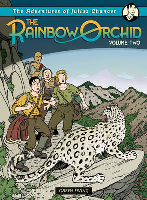 Cover for The Rainbow Orchid: Adventures of Julius Chancer - Vol 2 by Garen Ewing