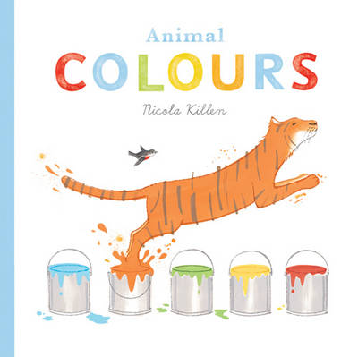 Cover for Animal Colours by Nicola Killen
