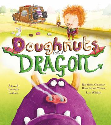 Cover for Doughnuts for a Dragon by Adam Guillain, Charlotte Guillain