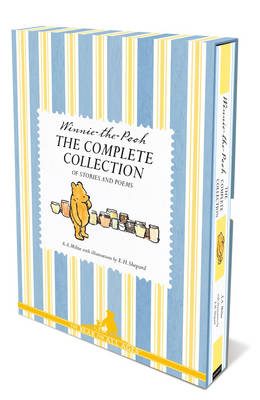 Cover for Winnie the Pooh: the Complete Collection of Stories and Poems by A.A. Milne