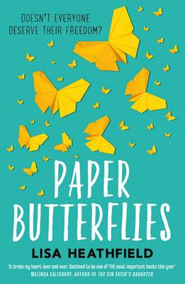 Cover for Paper Butterflies by Lisa Heathfield