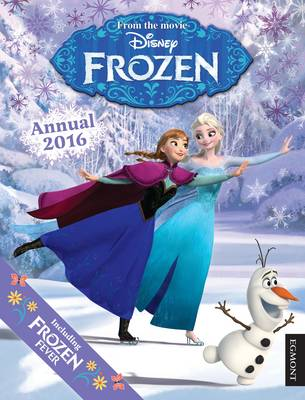 Cover for Disney Frozen Annual by Egmont UK Ltd
