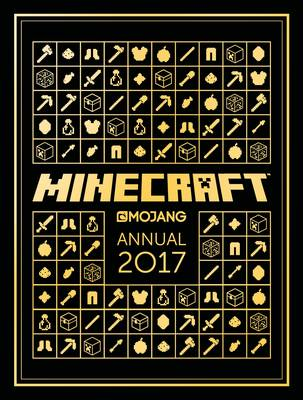 Cover for The Official Minecraft Annual 2017 by Mojang AB