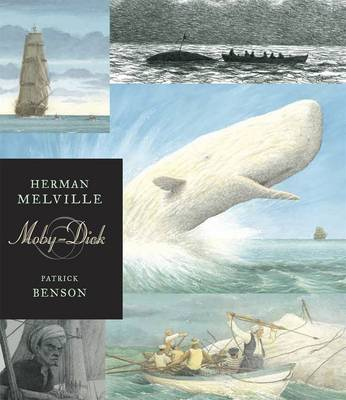 Cover for Moby Dick - Illustrated Edition by Herman Melville