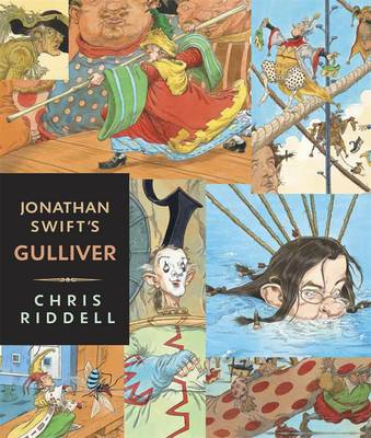 Cover for Gulliver - Illustrated Edition by Jonathan Swift, Chris Riddell