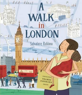 Cover for A Walk in London by Salvatore Rubbino