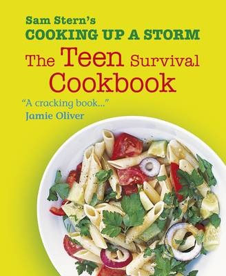 Book Cover for Cooking up a Storm - The Teen Survival Cookbook by Sam Stern