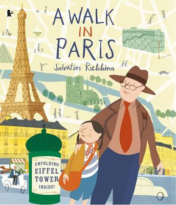 Cover for A Walk in Paris by Salvatore Rubbino