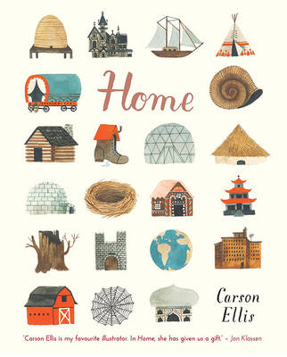 Cover for Home by Carson Ellis