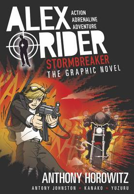 Cover for Stormbreaker The Graphic Novel by Anthony Horowitz, Antony Johnston
