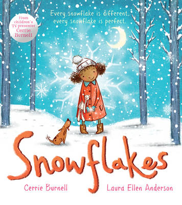 Cover for Snowflakes by Cerrie Burnell