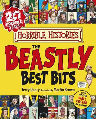 Book Cover for The Beastly Best Bits by Terry Deary