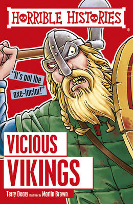 Cover for Vicious Vikings by Terry Deary, Martin Brown