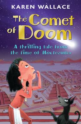 Cover for The Comet of Doom by Karen Wallace