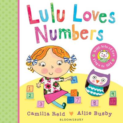 Cover for Lulu Loves Numbers by Camilla Reid