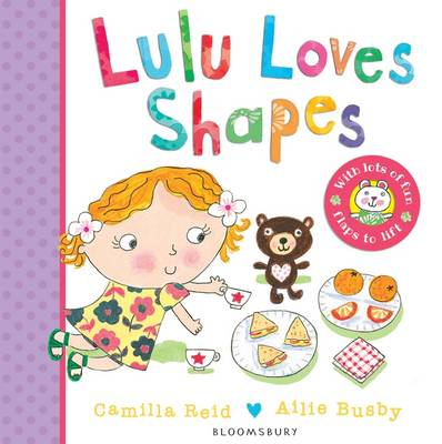 Cover for Lulu Loves Shapes by Camilla Reid