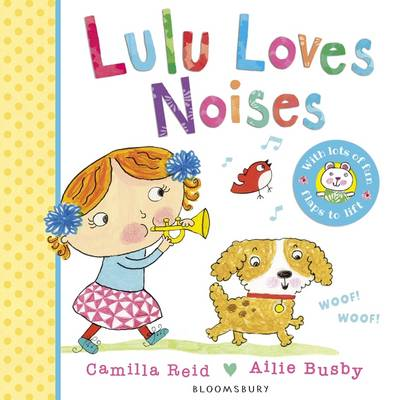 Cover for Lulu Loves Noises by Camilla Reid