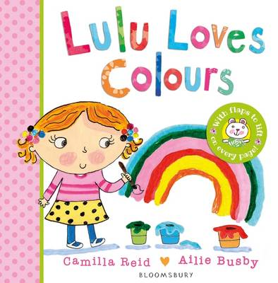 Cover for Lulu Loves Colours by Camilla Reid