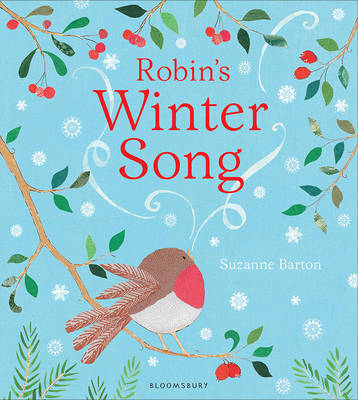 Cover for Robin's Winter Song by Suzanne Barton