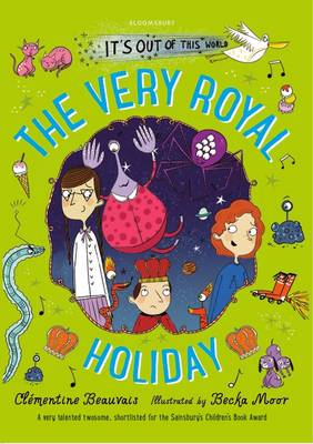 Cover for The Very Royal Holiday by Clementine Beauvais
