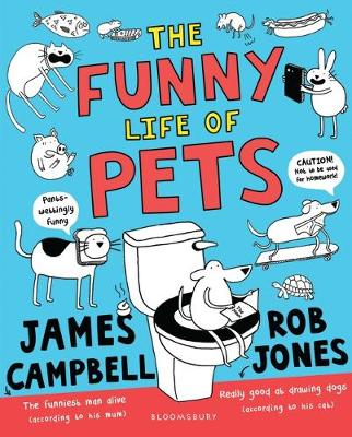 Cover for The Funny Life of Pets by James Campbell