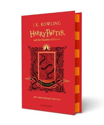 Book Cover for Harry Potter and the Chamber of Secrets - Gryffindor Edition by J. K. Rowling