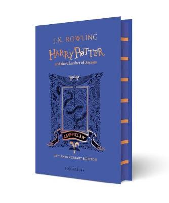 Book Cover for Harry Potter and the Chamber of Secrets - Ravenclaw Edition by J. K. Rowling