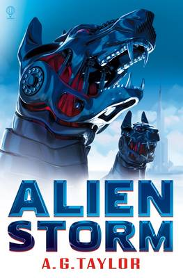 Cover for Alien Storm by A.G. Taylor