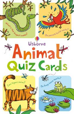 Cover for Animal Quiz Cards  by Simon Tudhope
