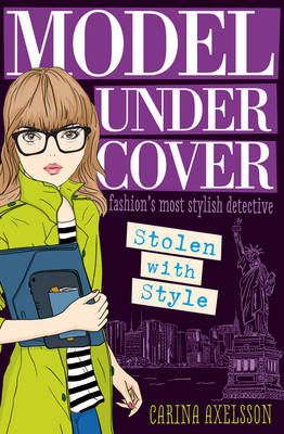 Cover for Model Under Cover Stolen with Style by Carina Axelsson