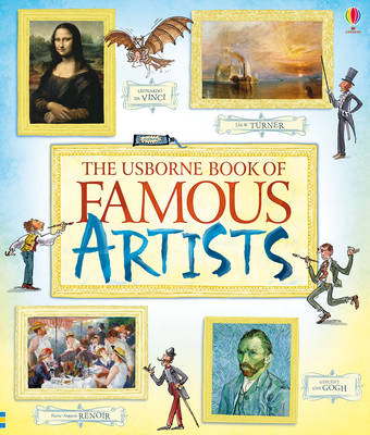 Cover for Book of Famous Artists by Rosie Dickins