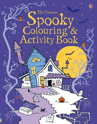 Cover for Spooky Colouring and Activity Book by Kirsteen Robson