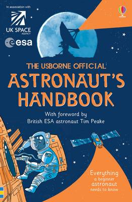 Book Cover for The Usborne Official Astronaut's Handbook by Louie Stowell
