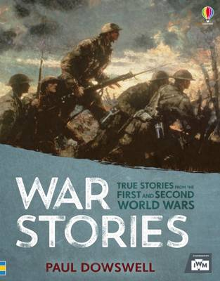 Cover for Book of War Stories by Paul Dowswell