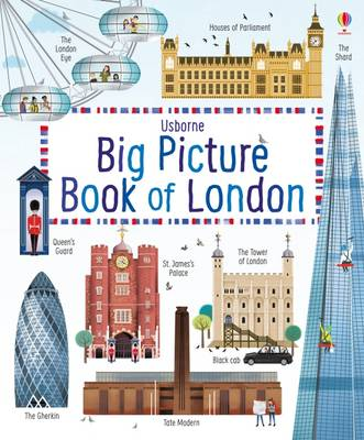 Cover for Big Picture Book of London by Rob Lloyd Jones